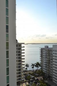 Vores udsigt fra hotellet...