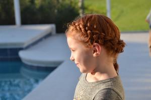 Smukke Eleonora med det smukke hår