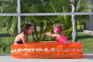 Og de store elsker også poolen