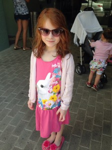 Eleonora foran Fortune House Miami - næsten 4 år senere siden sidst